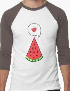 Watermelon 2 Men's Baseball ¾ T-Shirt