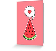 Watermelon 2 Greeting Card