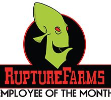 Rupture Farms Employee of the Month Shirt by RetroReview
