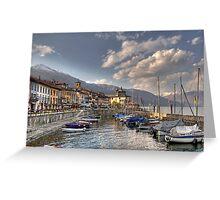 Cannobio - Lake Maggiore - Italy Greeting Card