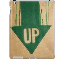 up is down iPad Case/Skin