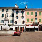 Piazza Paolo Diacono, Cividale Del Friuli by jojobob