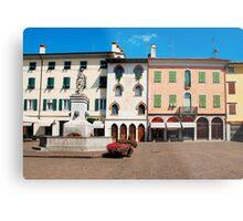 Piazza Paolo Diacono, Cividale Del Friuli Metal Print