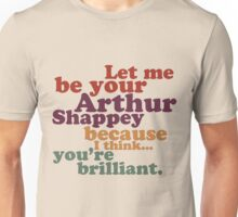 Cabin Pressure - You're Brilliant, Arthur Shappey Unisex T-Shirt