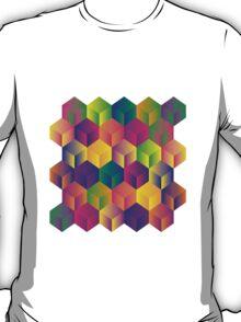 A Grid of Cubes T-Shirt