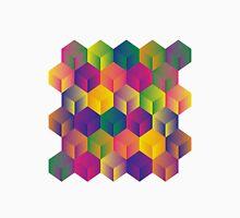 A Grid of Cubes Unisex T-Shirt