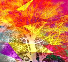 One Tree Thrice - DOS Sticker