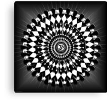 Aum Mandala Balance Canvas Print