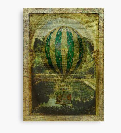 Hot Air Balloon Voyage Canvas Print