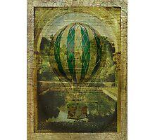 Hot Air Balloon Voyage Photographic Print