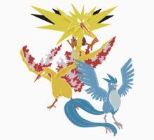 Legendary Birds by RapidKoala