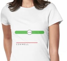 Coxwell station Womens Fitted T-Shirt