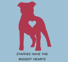 Staffies have the biggest hearts by Pengellyn