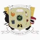AH family crest by jjabramss