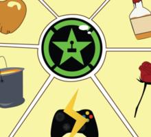 AH family crest Sticker