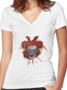 The Undead Women's Fitted V-Neck T-Shirt