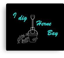 I Dig Herne Bay 11 Canvas Print