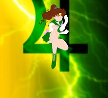 Sailor Jupiter Lineless Art by usakoneko