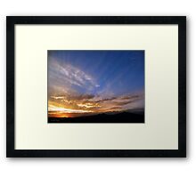 ©HCS Water Clouds Framed Print