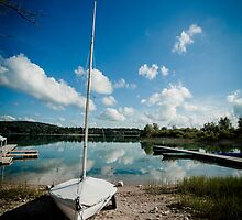 Lac du Chalain, Jura Region, France by TiarasTeddies