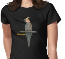 Cockatiel T-shirt Womens Fitted T-Shirt