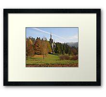 Romania 3 Framed Print