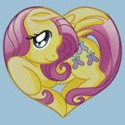 Fluttershy is my heart by Amelie  Belcher