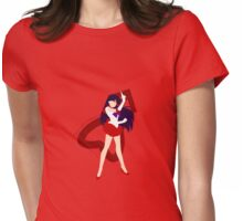 Agent of Fire and Passion, Sailor Mars Womens Fitted T-Shirt