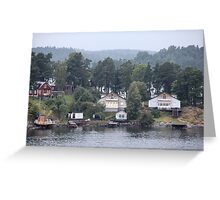 home on the shore Greeting Card