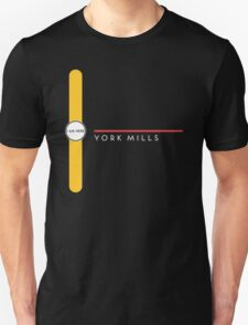 York Mills station Unisex T-Shirt