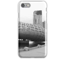 Webb bridge docklands iPhone Case/Skin