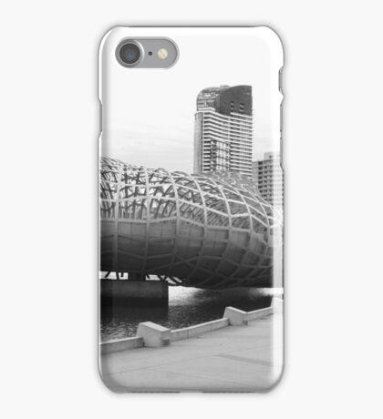 Webb bridge docklands iPhone Case/Skin