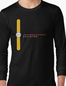 Eglinton station Long Sleeve T-Shirt