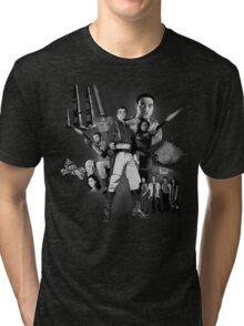 Serenity: The Alliance Strikes Back (black and white version) Tri-blend T-Shirt