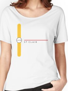 St. Clair station Women's Relaxed Fit T-Shirt