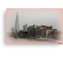 London's Latest Attraction - The Shard Canvas Print