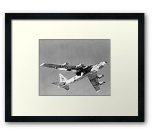 X-15 Mated to B-52 Captive Flight Framed Print