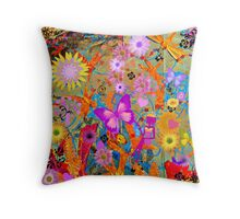 The Magic of Spring Throw Pillow