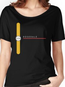 Rosedale station Women's Relaxed Fit T-Shirt