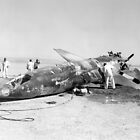 X-15 Crash at Mud Lake, Nevada by Space Photo Shop