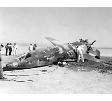 X-15 Crash at Mud Lake, Nevada Photographic Print