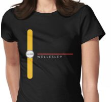 Wellesley station Womens Fitted T-Shirt