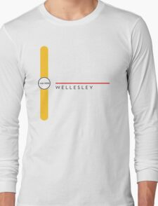 Wellesley station Long Sleeve T-Shirt