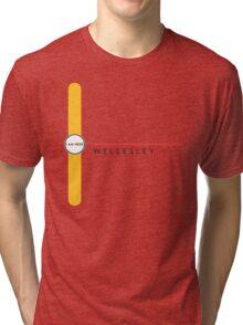 Wellesley station Tri-blend T-Shirt