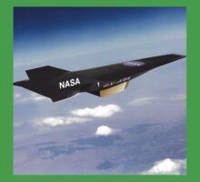 NASA X-43 HYPERSONIC JET One Piece - Short Sleeve