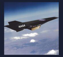 NASA X-43 HYPERSONIC JET Kids Tee