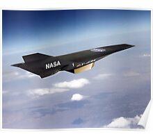 NASA X-43 HYPERSONIC JET Poster