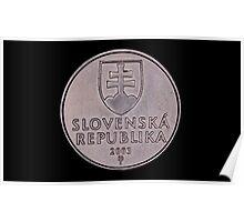 slovak coins Poster