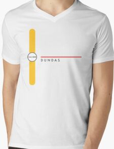 Dundas station Mens V-Neck T-Shirt