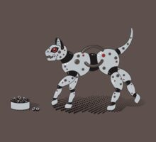 Feed Your Robot Cat (Red Eyes) by Stephanie Whitcomb
